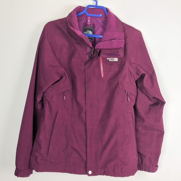 4/$25 North Face Purple Shell Size Small Hy-Vent